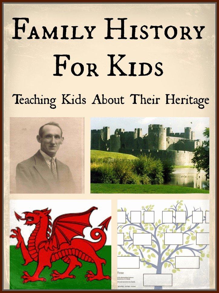 Family History for Kids Teach Beside Me
