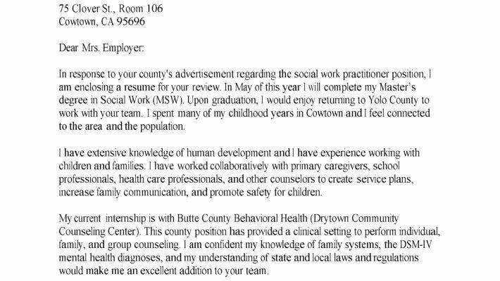 Family Service Worker Cover Letter Resume Mental Health