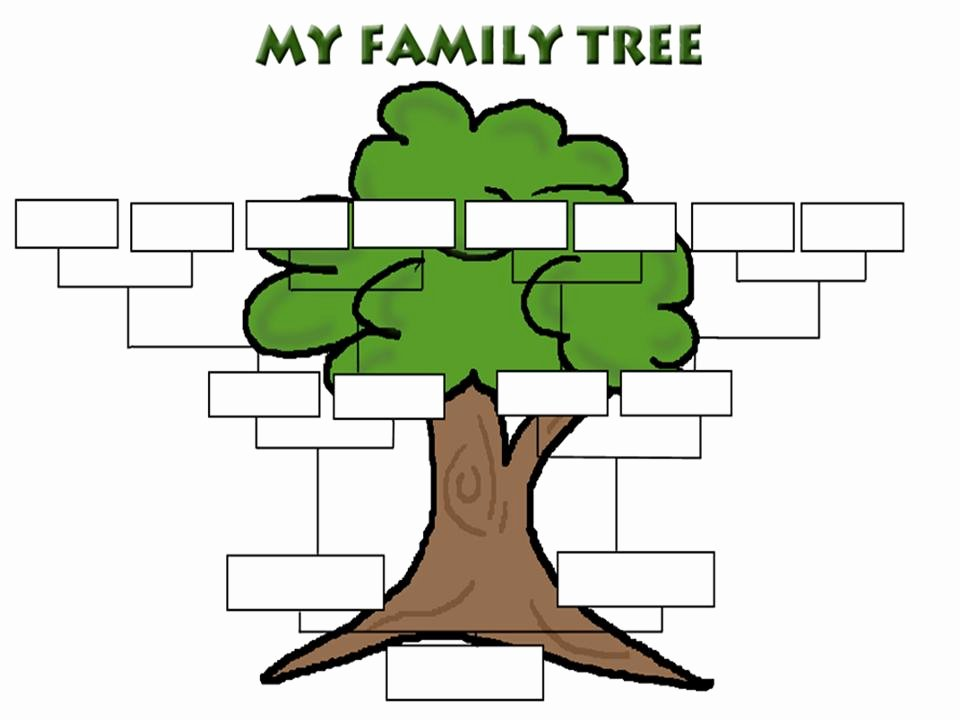 Family Tree Background Powerpoint