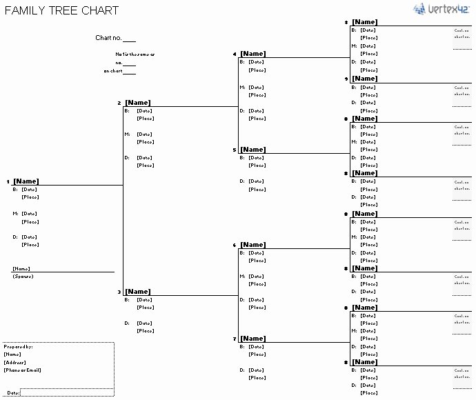 Family Tree Chart Template Beepmunk
