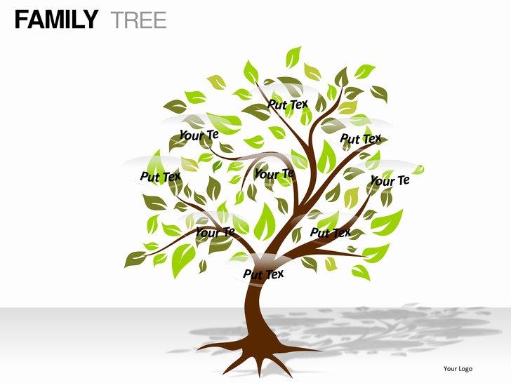 Family Tree Powerpoint Presentation Templates