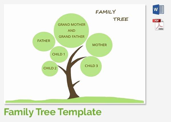 Family Tree Template 37 Free Printable Word Excel Pdf