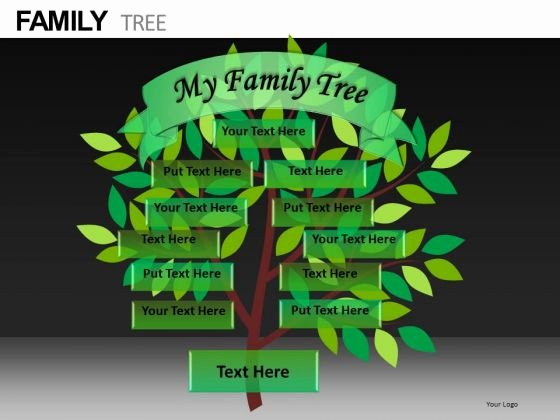 Family Tree Template Family Tree Template Editable
