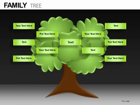 Family Tree Template Family Tree Template for Powerpoint