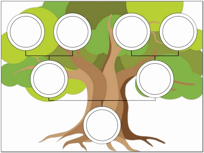 Family Tree Template for Kids Editable Family Tree