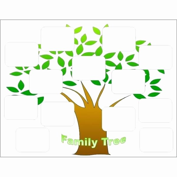 Family Tree Template Free Vector Science Templates for