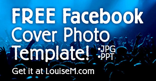 Fan Page Cover 2014 Free Template