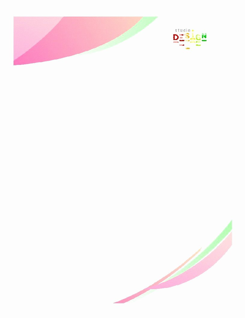Fancy Letterhead Templates