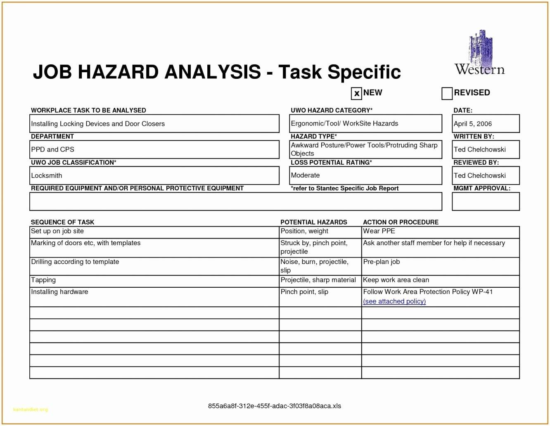 Fantastic Job Safety Analysis Examples Xw46