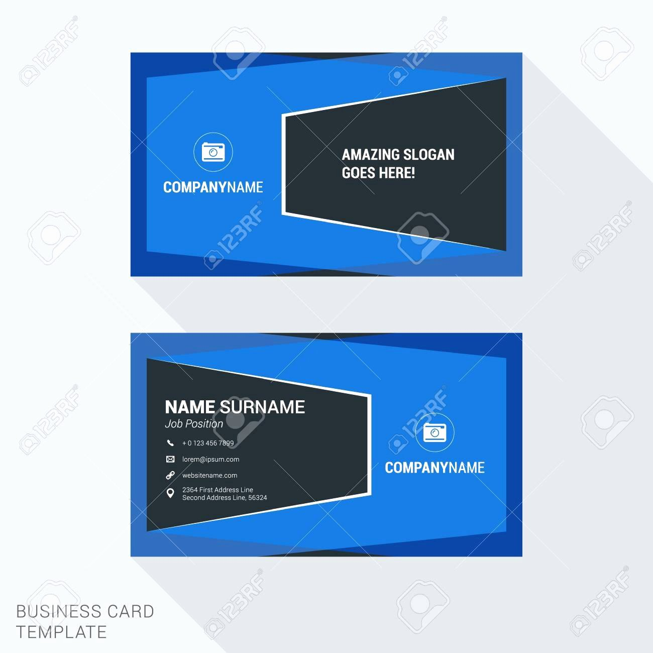 Fantastic Pics Graduation Name Card Template