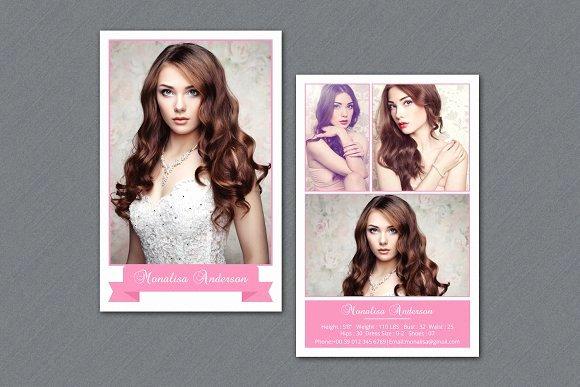 Fashion Model P Card V292 Flyer Templates On Creative