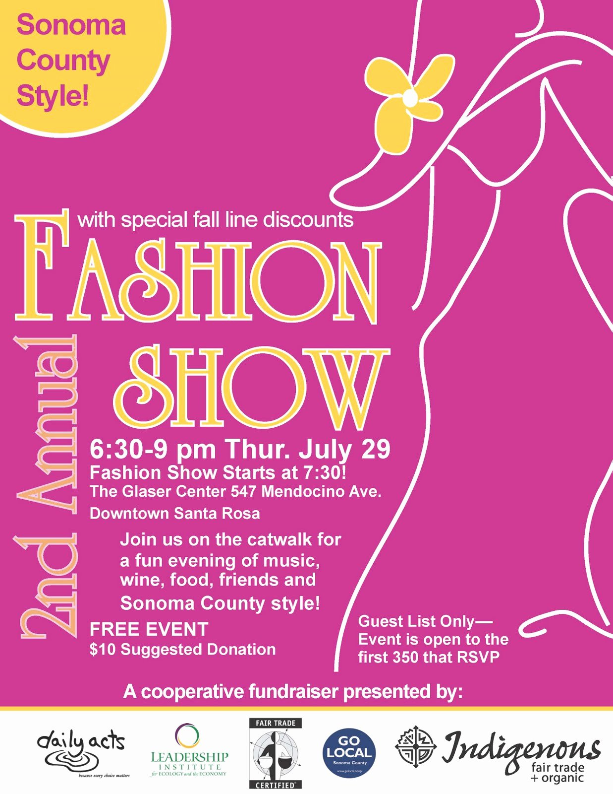 Fashion Show Flyers Samples Related Keywords Fashion