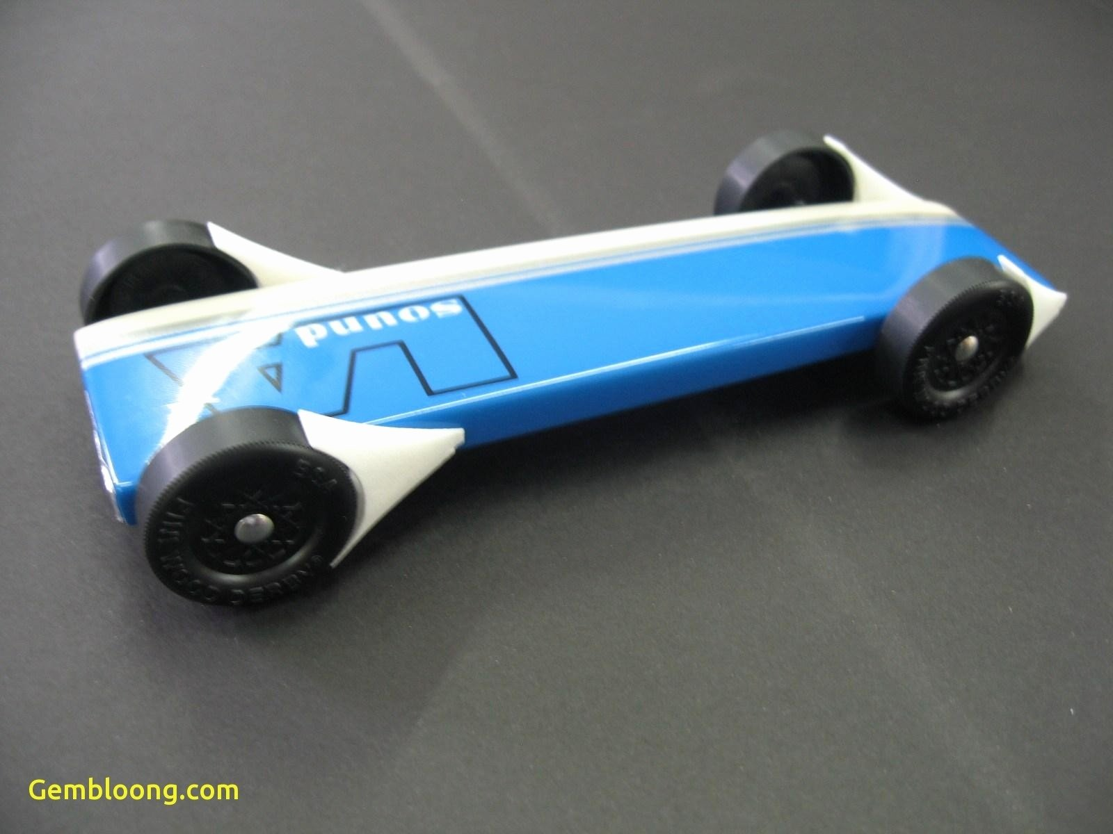 Fast Pinewood Derby Car Templates 2018