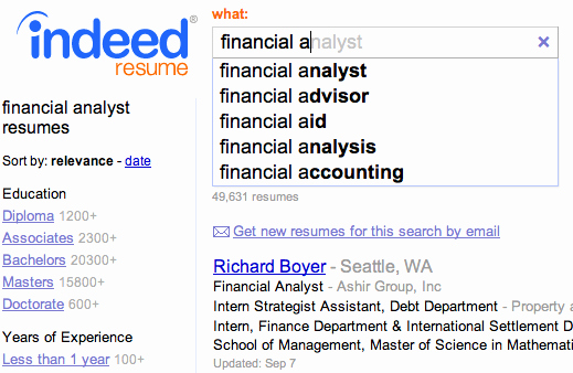 Fast Simple Free Resume Search Indeed Blog