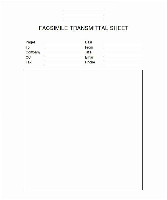 Fax Cover Sheet Template 14 Free Word Pdf Documents