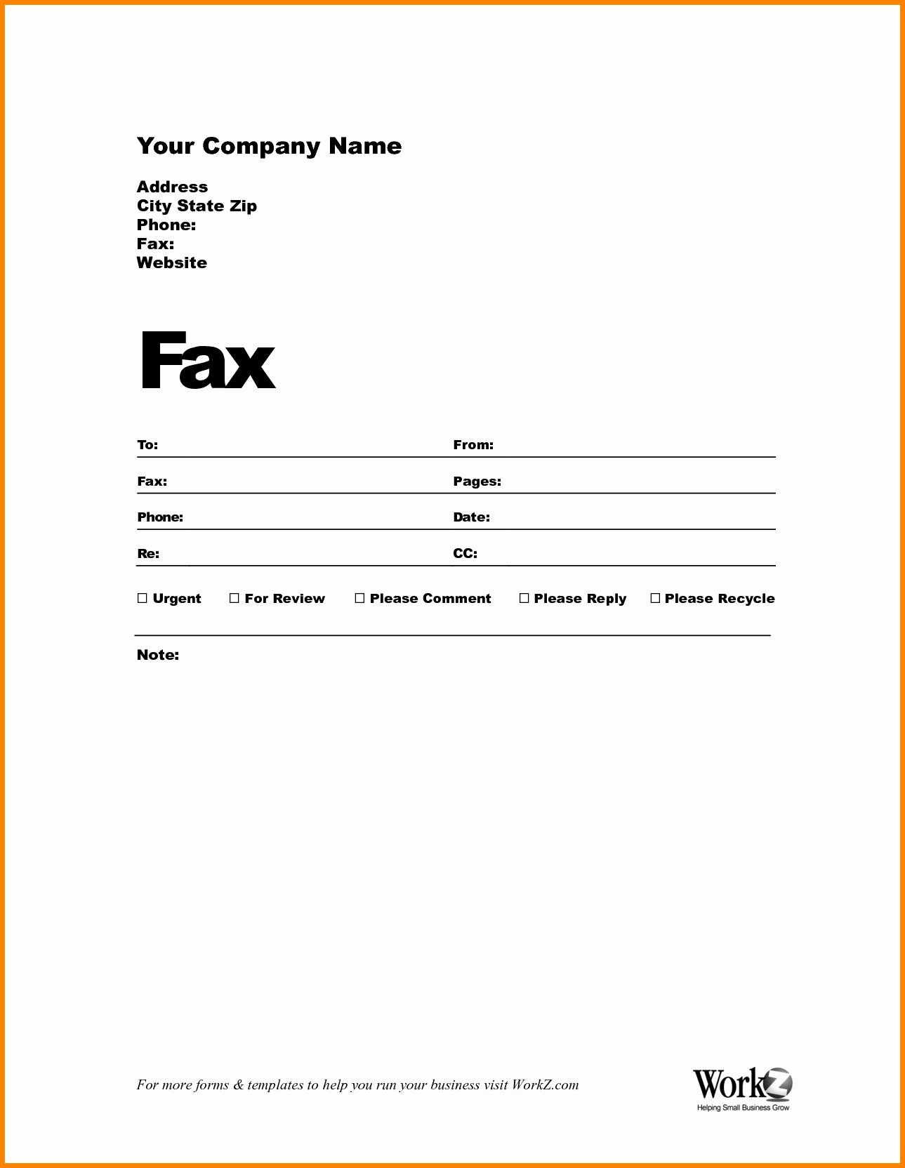 Fax Cover Sheet Template Word Confidential Fax Cover Sheet