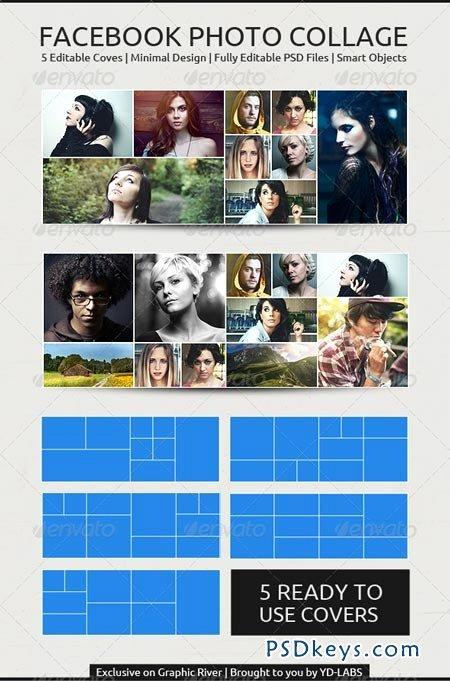 Fb Collage Free Download Shop Vector
