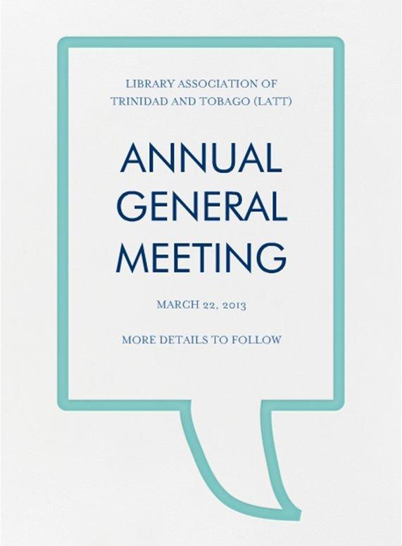 February 2013 – Library association Of Trinidad & tobago
