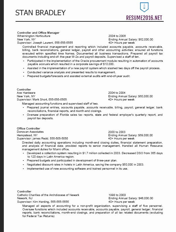 Federal Resume format 2016 How to A Job