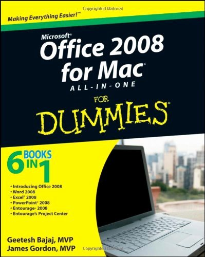 Fice 2008 for Mac All In E for Dummies Pdf