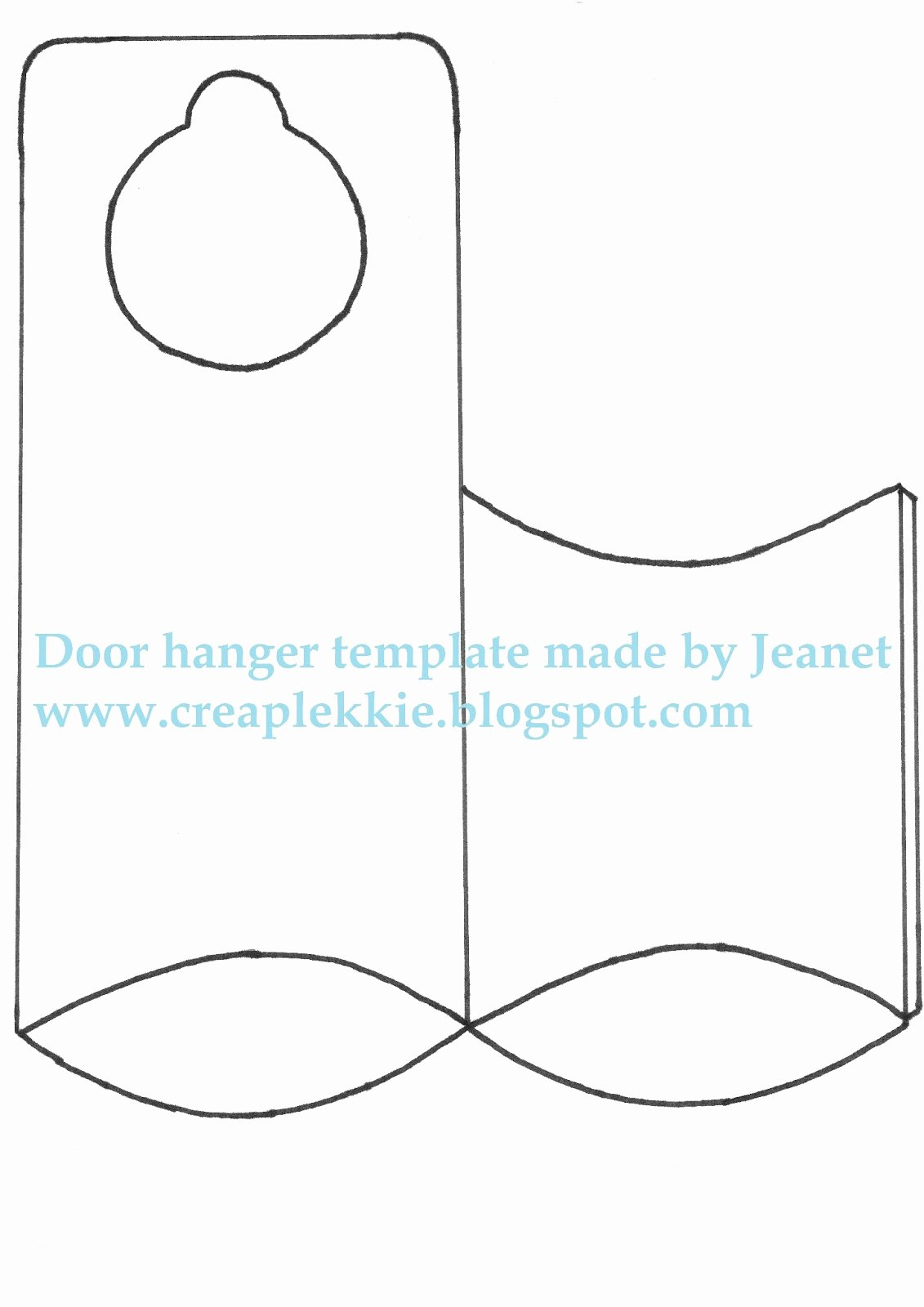 Fice Door Microsoft Fice Door Hanger Template