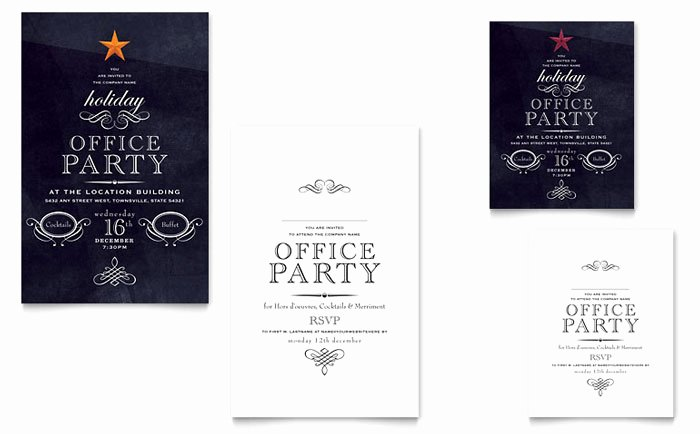 Fice Holiday Party Graphic Design Ideas