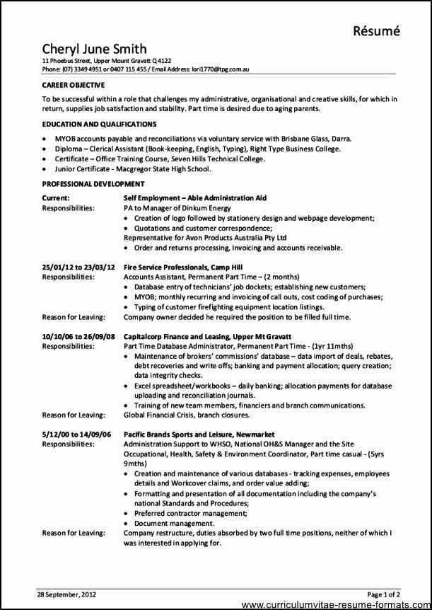 Fice Manager Job Description for Resume