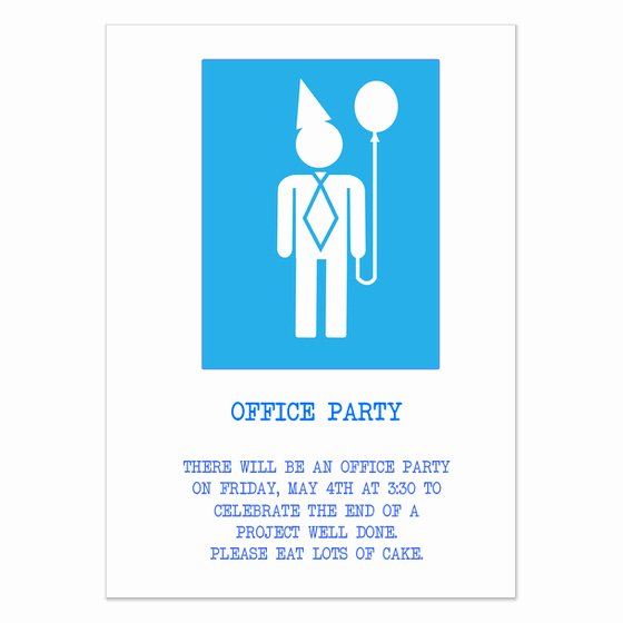 Fice Party Universal Invitations & Cards On Pingg