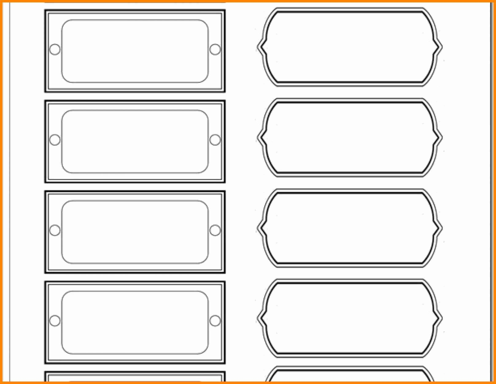 Filing Cabinet Label Template