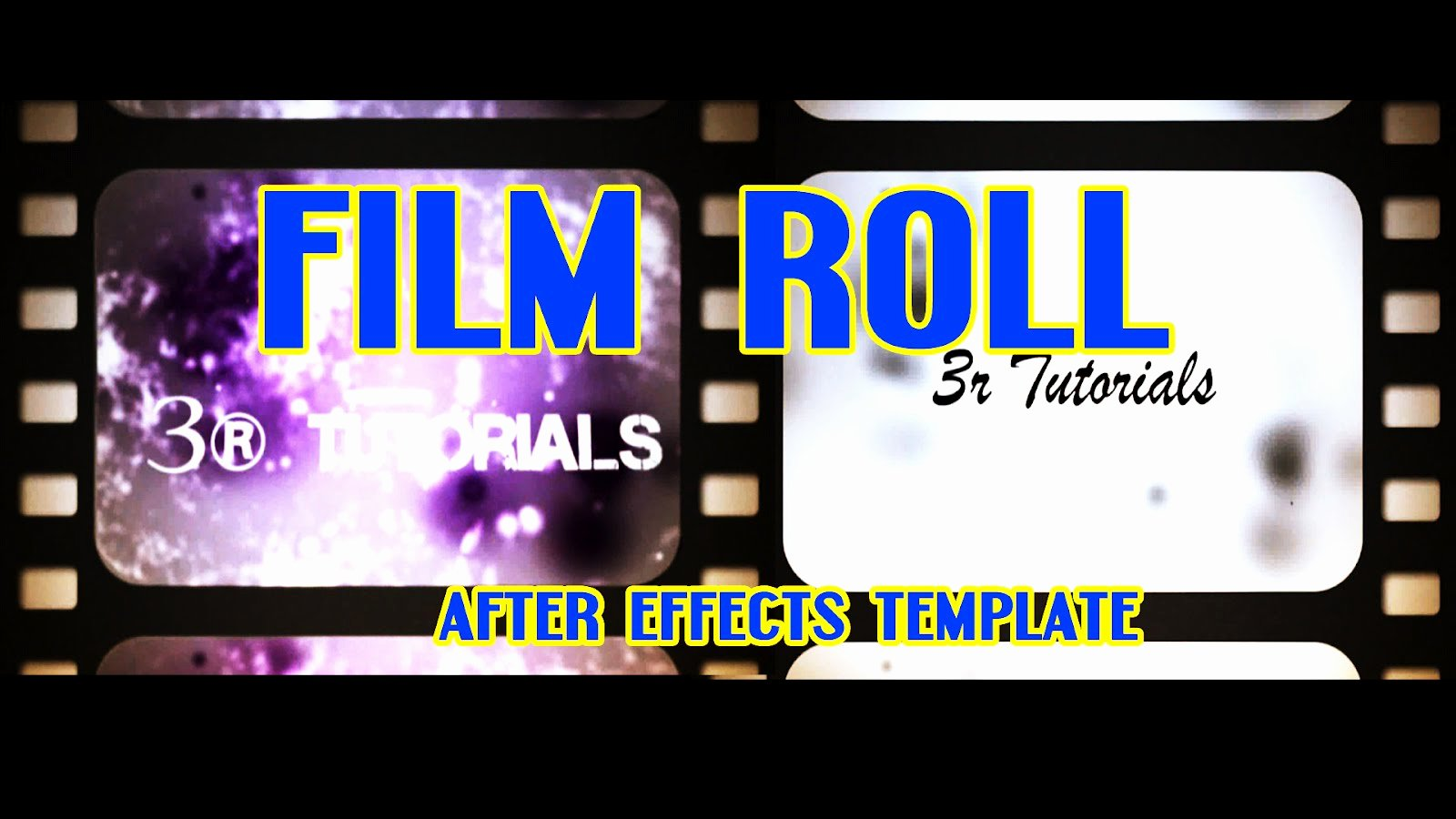 Film Roll Free Adobe after Effects Intro Templates Cs4