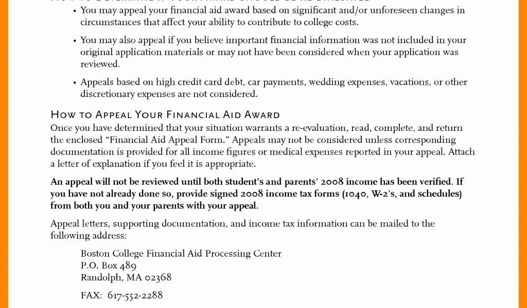 Financial Aid Award Letter