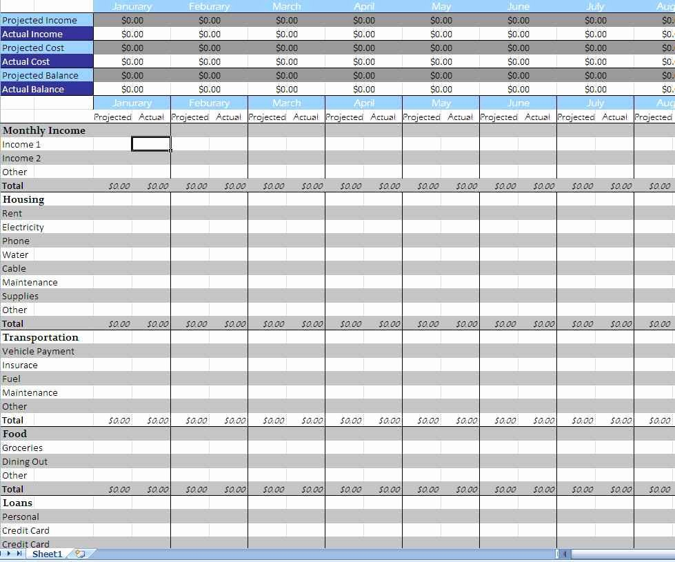 Financial Business Plan Template Excel Financial Planning