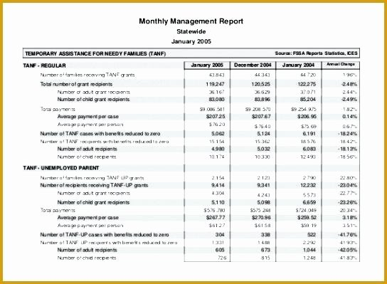 Financial Report format In Excel In E Statement Template