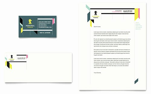 Financial Services Letterhead Templates Word & Publisher