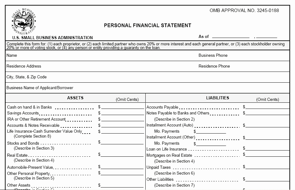 Financial Statements Templates In E Statement Template
