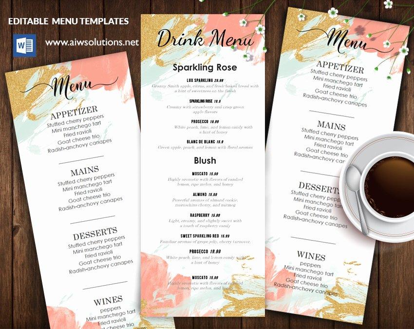 Fine Dining Menus – Aiwsolutions