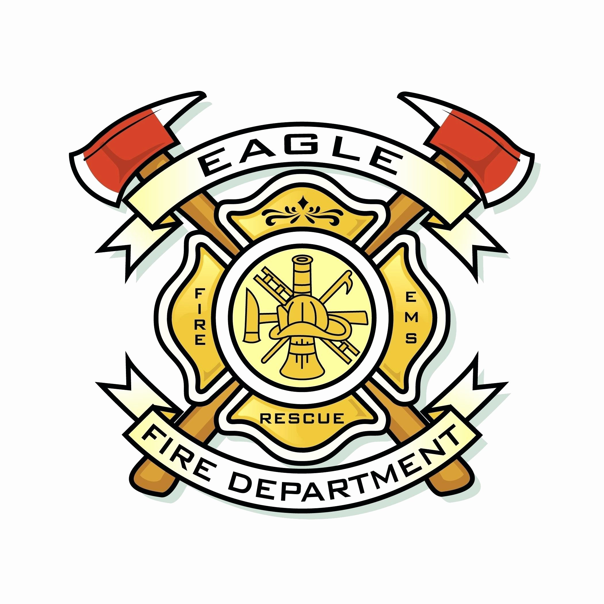 Fire Department Patch Template