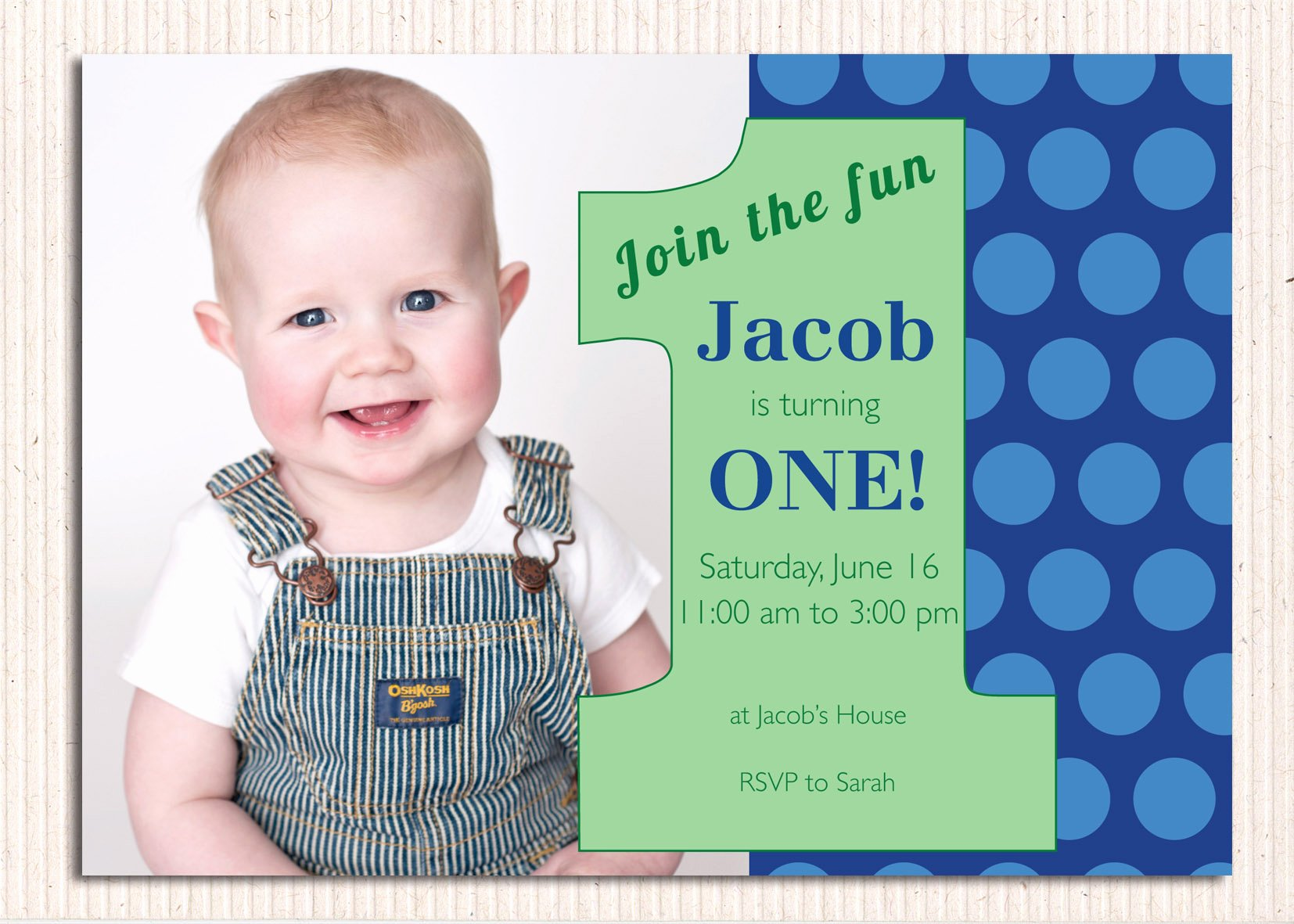 First Birthday Invitations – Bagvania Free Printable