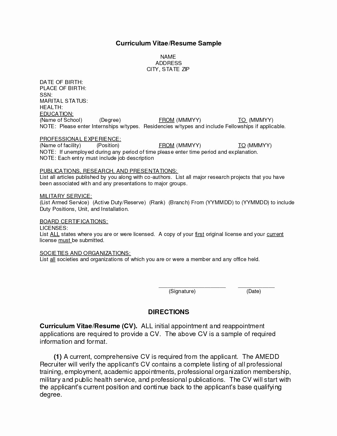 First Job Resume Template Example A Resume for First Job