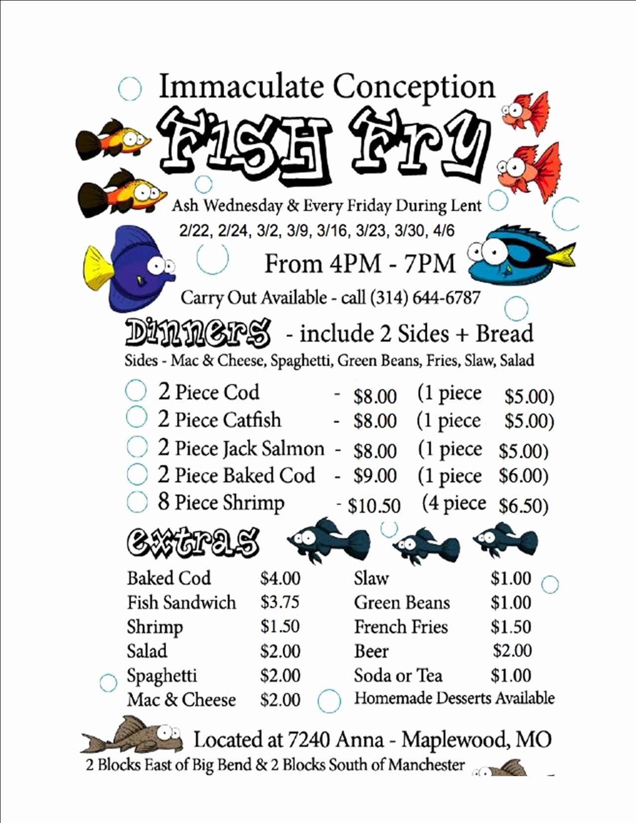 Fish Fry Flyer 2012 – Immaculate Conception Parish