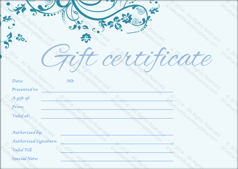 Fitness Gift Certificate Template Dominos Pizza Claremont