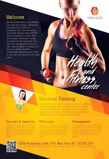 Fitness Gym – Free Flyer Psd Template Cover