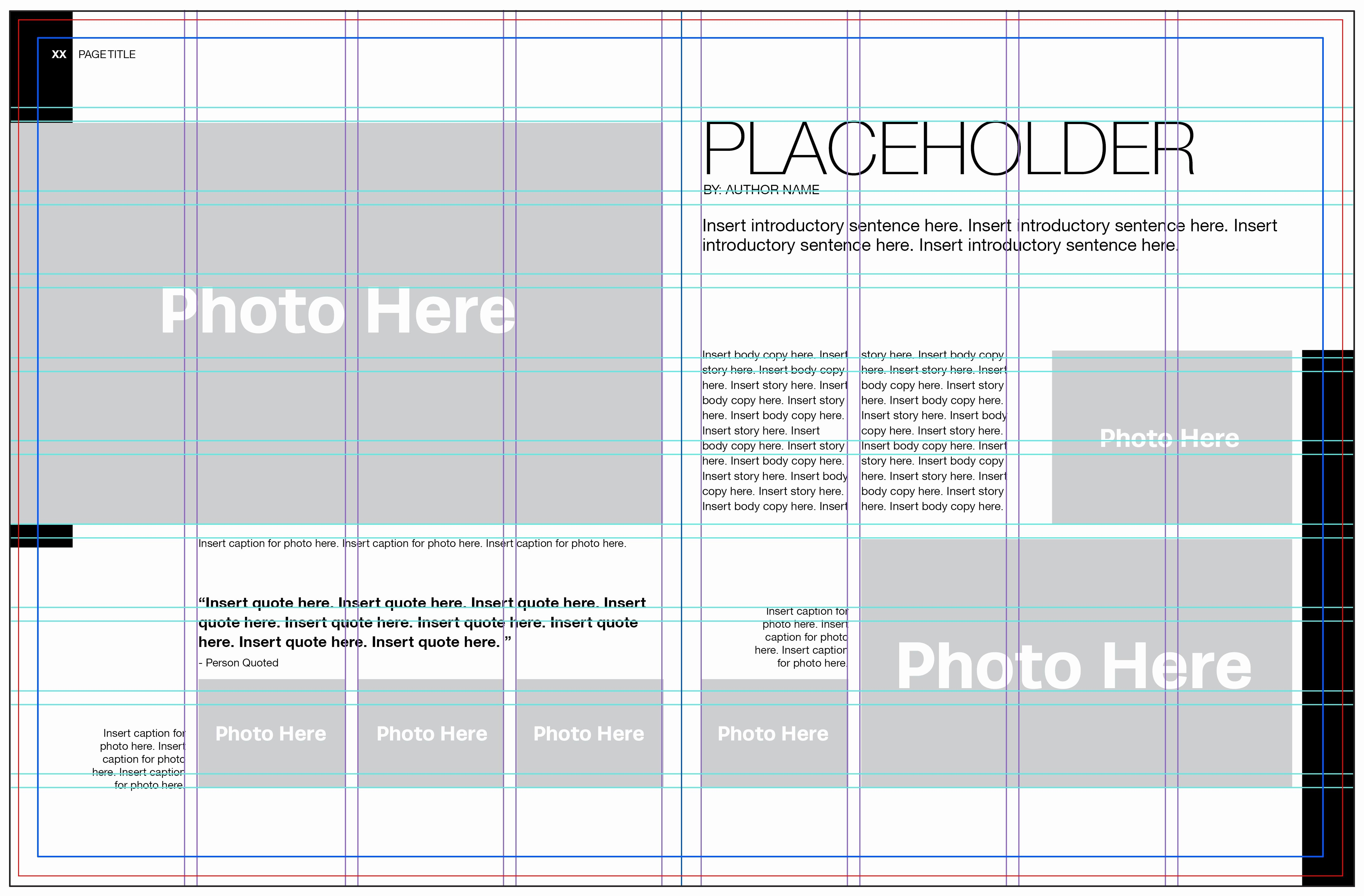 Five Steps to Laying Out A Yearbook Page