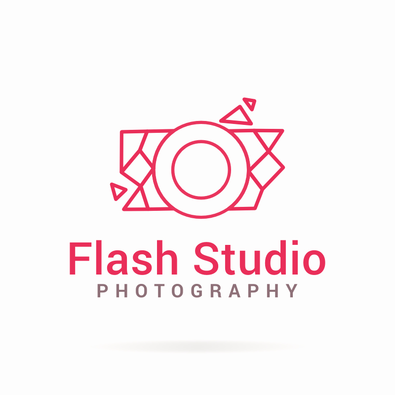 Flash Studio Graphy Logo Template
