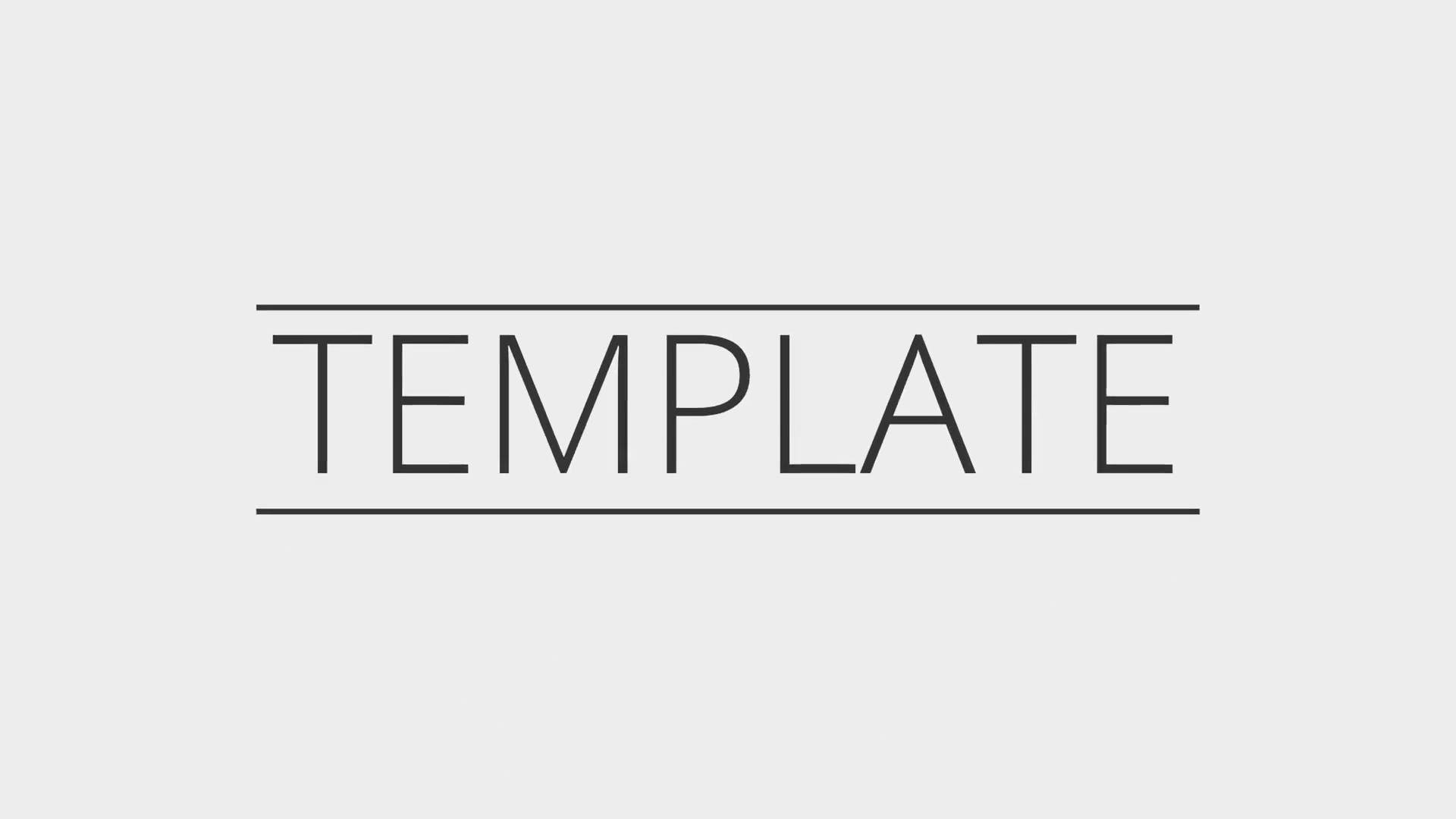 Flat Blender 2d Intro Template Free Download