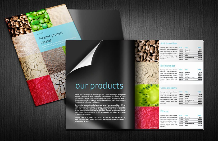 Flexible Product Catalogue Indesign Template