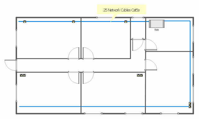 Floor Plan Templates Network Layout Ethernet Local area
