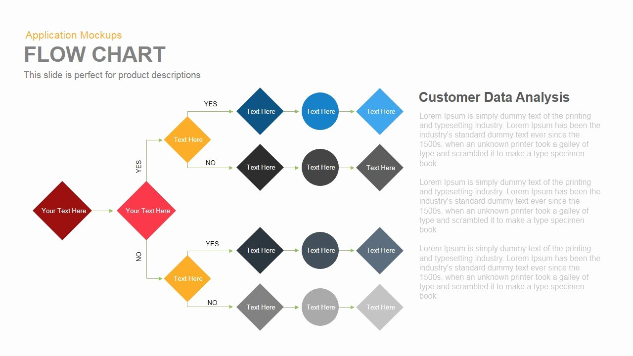 Flow Chart Powerpoint and Keynote Template