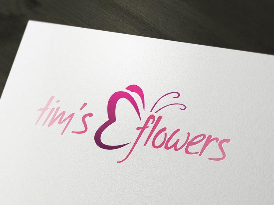 Flower Florist Logo Template PSD