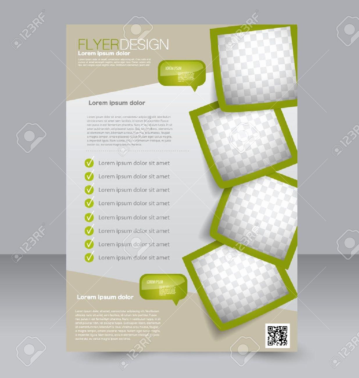 Flyer Template Brochure Design Editable A Poster for